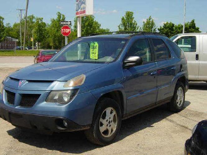 $3,500 02 Pontiac Aztek Blue