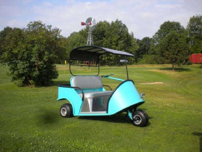 $3,500 1950's electric marketeer golf cart