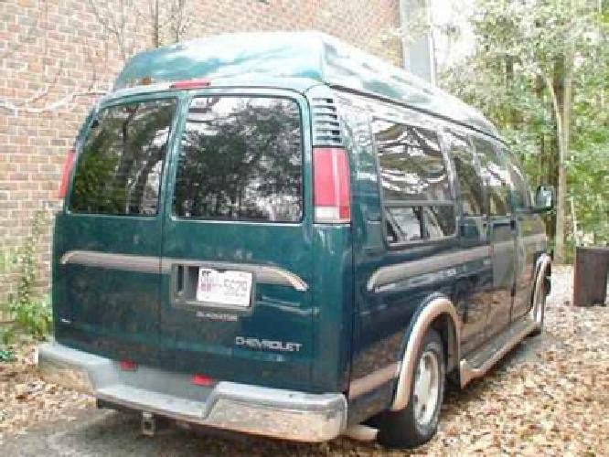 3500 1997 Chevy Gladiator Conversion Van