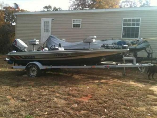 3 500 2001 16ft Nissan Bass Boat Middleton Tn For Sale
