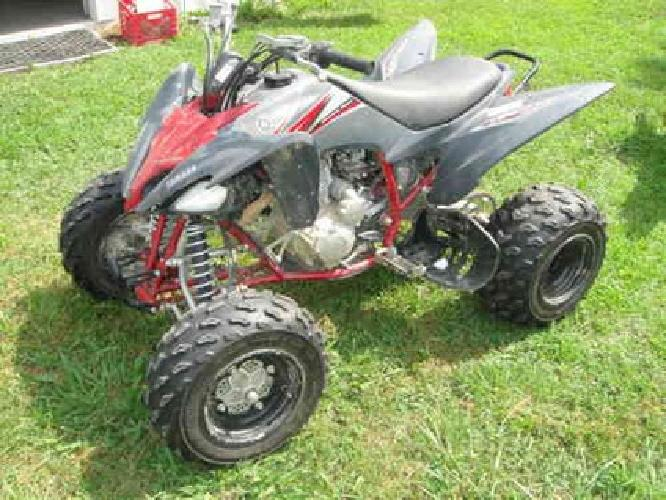 3 500 2010 yamaha raptor 250 4 wheeler for sale in for Four wheelers yamaha for sale