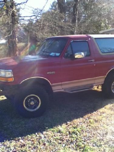 $3,500 OBO 1996 Ford Bronco