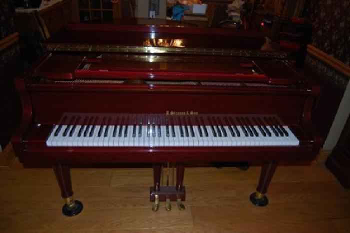 $3,500 OBO J Strauss & Sons baby grand piano