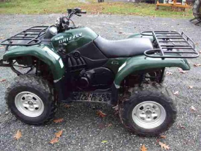 3 650 2006 yamaha grizzly 660 4x4 atv for sale in burlington vermont classified. Black Bedroom Furniture Sets. Home Design Ideas