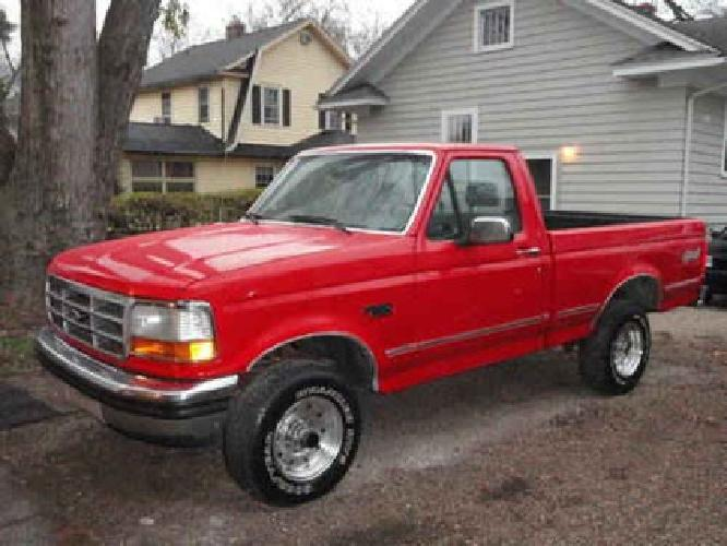 3 695 1992 ford f150 xlt short box 4x4 pickup for sale in kalamazoo michigan classified. Black Bedroom Furniture Sets. Home Design Ideas