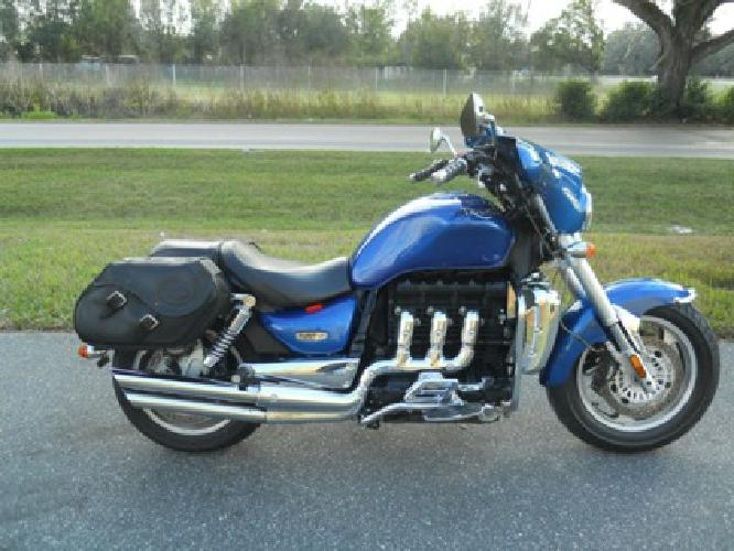 3 700 2006 triumph rocket iii blue 2294cc for sale in chino hills california classified. Black Bedroom Furniture Sets. Home Design Ideas