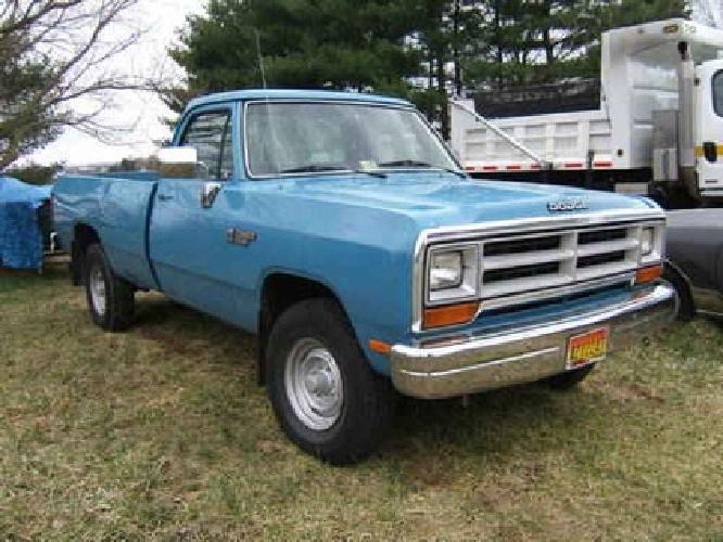 $3,750 1989 Dodge Power Wagon 4WD - 107K miles