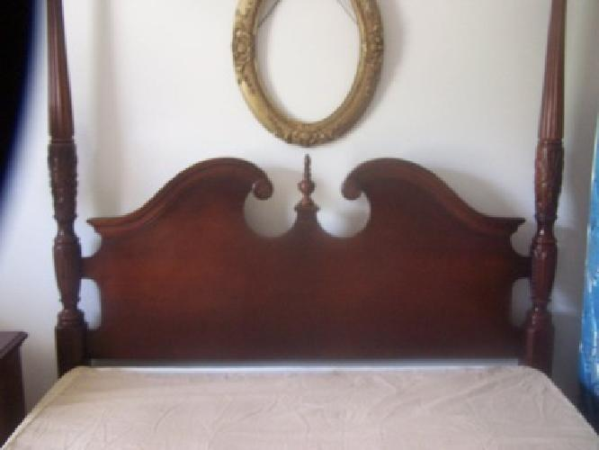3 800 obo queen anne rice bedroom suite for sale in aiken for Queen anne bedroom suite
