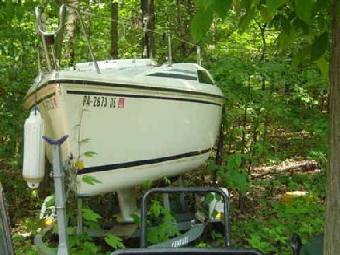 $3,900 1991 Hunter 18.5 Sailboat