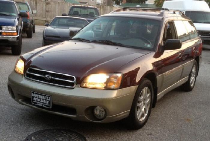 $3,990 2000 Subaru Legacy Outback AWD
