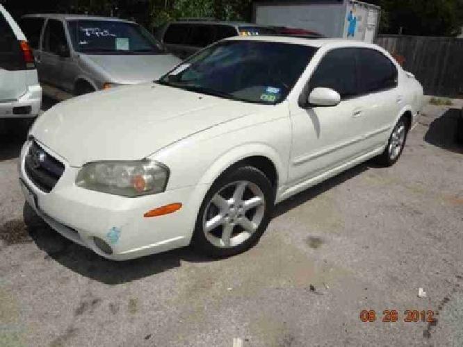 $3,995 2003 Nissan Maxima 4dr Sdn GXE Auto