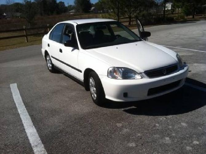 3 999 99 honda civic 4 door auto for sale in ocala for Honda civic 99 for sale