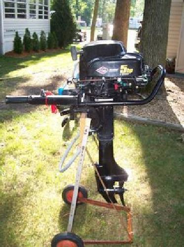 $400 5 Hp Briggs & Stratton Boat Motor for sale in Antioch