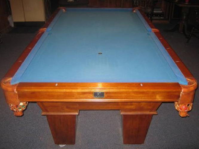 Ft Bentley Pool Table By Kasson For Sale In Prudenville - 8ft kasson pool table