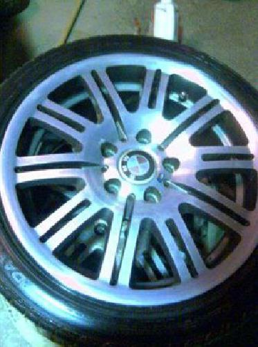$400 bmw 17in wheels & tires (waterford PA)
