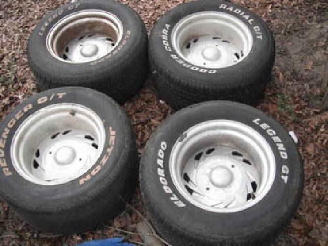 400 Chevy 5lug Centerline Scorpion 15 X10 Wheels With