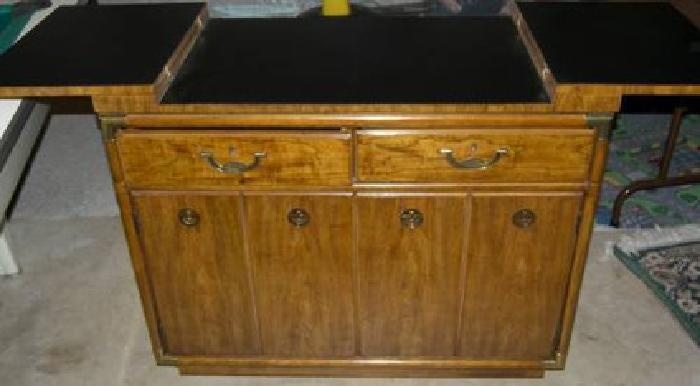 heritage rolling kitchen server buffet new condition for sale