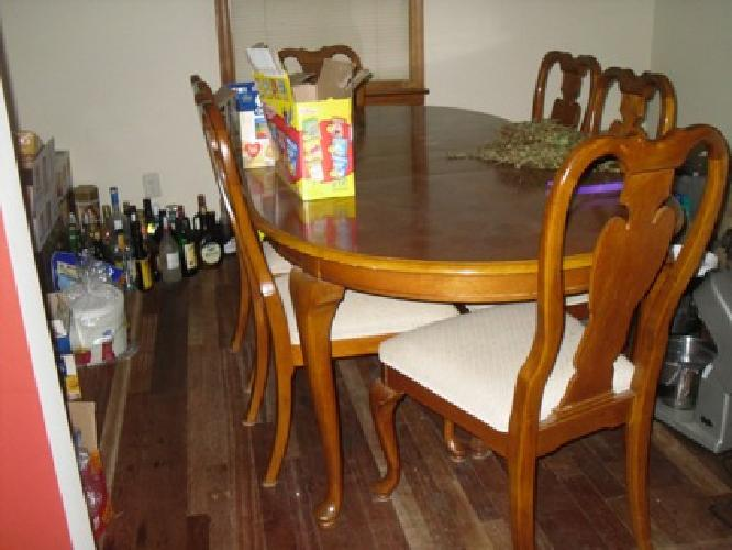 400 I Have A Dining Room Table With Chairs And A China Cabinet For Sale For Sale In Summerville