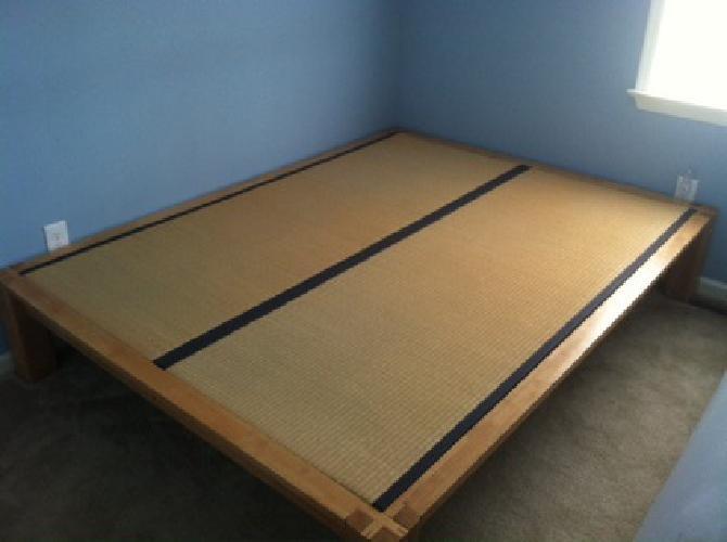 400 Anese Raku Tatami Platform Bed With Mats Queen