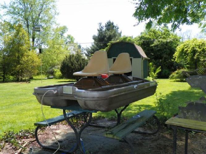 $400 OBO 2 Man Bass Boat