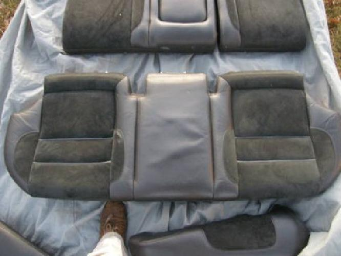 $400 RARE Volvo 850R Black Leather/Suede Seats