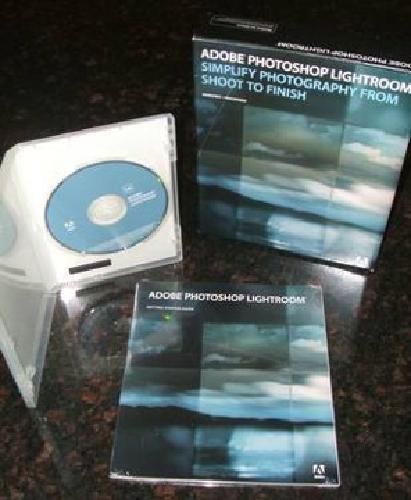 $40 Adobe Photoshop Lightroom