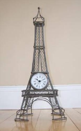 $40 Eiffel Tower Desk Clock