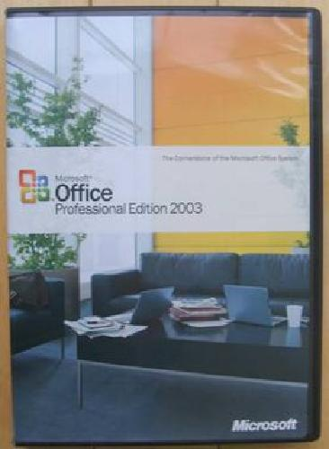 $40 Microsoft Office Professional Edition 2003 Upgrade