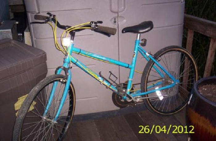 40 Murray All Terrain Womans Blue Bike 10 Speed For