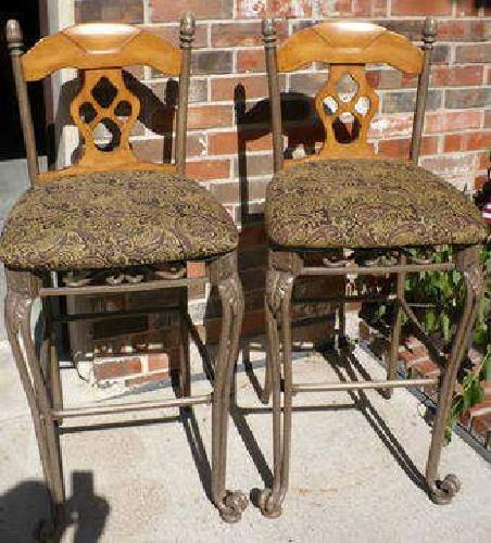 $40 Very Nice Bar Stools, Ashley Furniture, Wood and Metal
