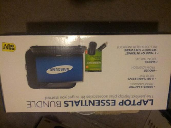 $425 OBO samsung 3series new!!! with new laptop sleeve mouse, usb, and antivirus