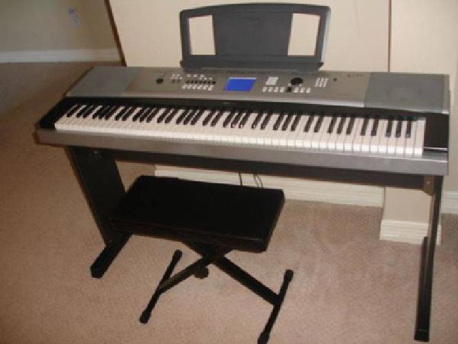 429 yamaha dgx 530 used portable grand piano for sale for Yamaha dgx 200 portable grand keyboard
