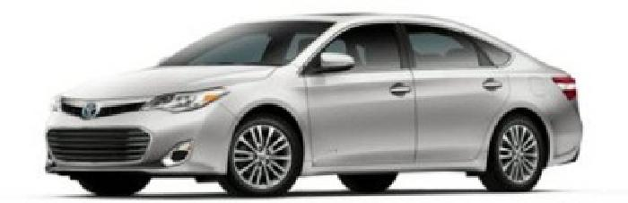 $42,504 2014 Toyota Avalon Hybrid 4dr Sdn Limited