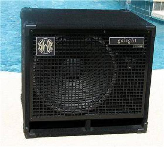 $430 SWR Golight 1x15 (& horn) Neo Bass Cabinet - Pristine! - 350W - 8 ohm