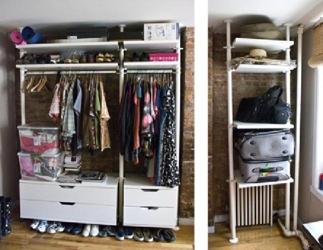 435 ikea stolmen wardrobe system white for sale in emeryville california classified. Black Bedroom Furniture Sets. Home Design Ideas