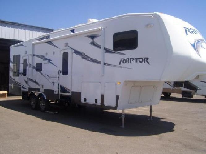 $43,500 2012 Raptor 297SE Toy Hauler