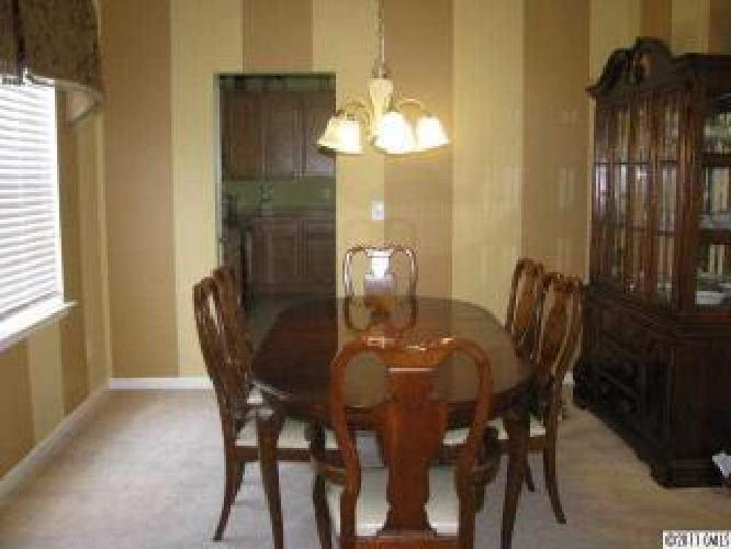 445 dining room set 6 chairs with china cabinet for