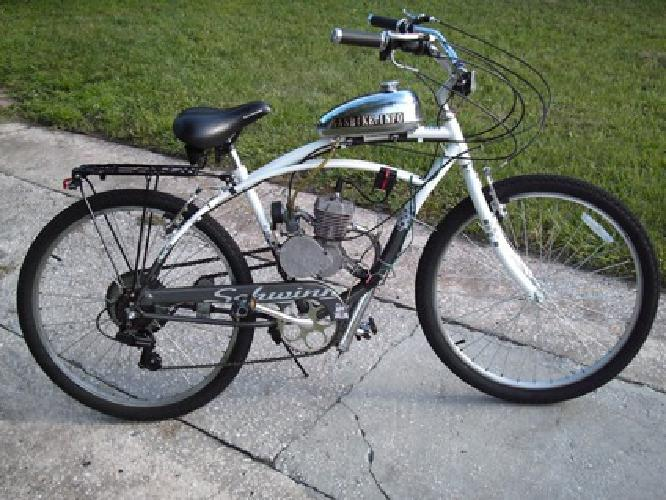 449 obo 80cc motorized bicycle gas engine 26 beach. Black Bedroom Furniture Sets. Home Design Ideas