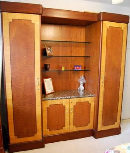 450 3 Piece Bedroom Set Inlaid Wood Granite Tops For Sale In East Northport New York