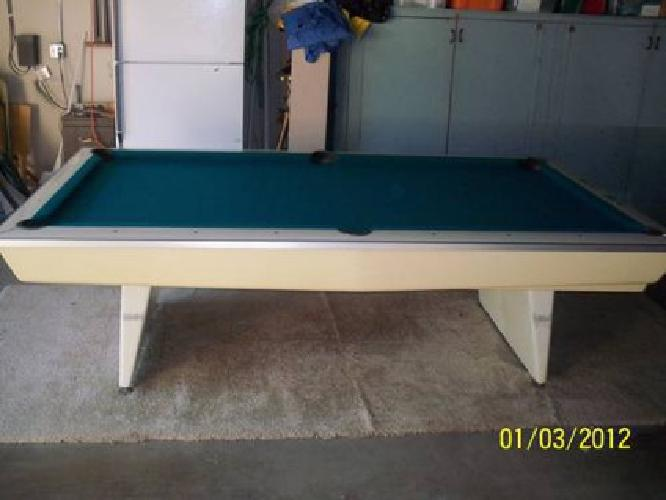 BRUNSWICK Celebrity POOL TABLE For Sale In Newport Beach - 4 x 8 brunswick pool table