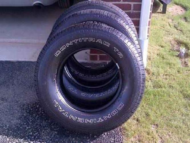 $450 Continental ContiTrac TR Tires Size P265/70 R 17 113 S - Set of 3