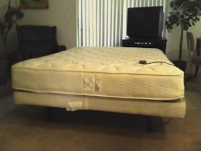 450 Craftmatic Queen Size Adjustable Bed With Massage For