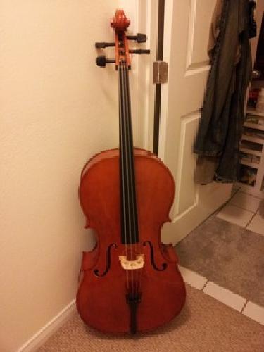 $450 OBO Full Size Cello and Accessories