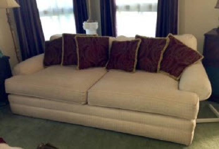 $450 Sofa and Chair & Half plus ottoman