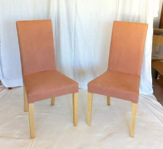 45 2 Harry Upholstered Dining Chairs From Ikea For Sale