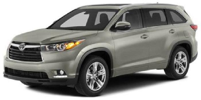 $45,495 2014 Toyota Highlander 4WD 4dr V6 Limited