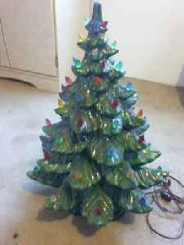 Vintage Ceramic Christmas Tree Details About 24 Vintage Ceramic