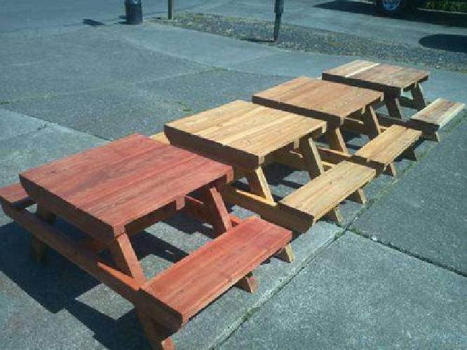 $45 kids Picnic Tables!