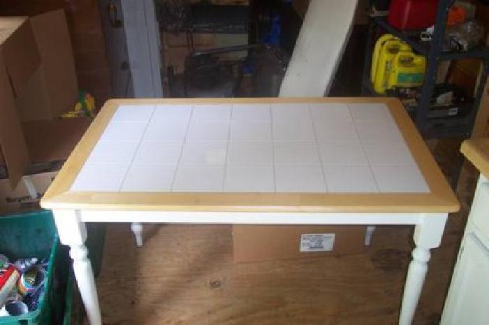white tile top kitchen table need some ideas for a new kitchen table gold is money 1877