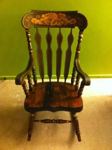 $45 Solid Wood Rocking chair